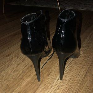 Zara Shoes - Zara Patent Leather Booties